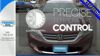 Certified 2014 Honda Accord Fredericksburg VA Richmond, VA #FHA017505A - SOLD