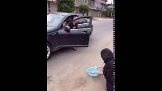 Most Funniest THEFT of a MERCEDES BENZ CAR