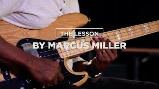 THE LESSON BY MARCUS MILLER : How to improvise a solo