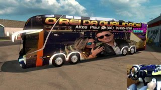 JUNIOR VIANA NO SEU BUS TOP SHOW