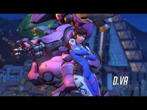 Overwatch: D.Va Character Trailer