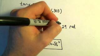 Solving Trigonometric Equations Using the Quadratic Formula - Example 3