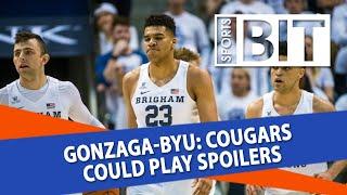Gonzaga Bulldogs at BYU Cougars | Sports BIT | NCAAB Picks