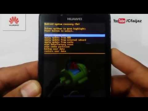 How To Hard Reset Huawei Ascend Y511-U30 Phone
