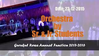 Shivendra Singhroul GURUKUL rewa annual function 2017
