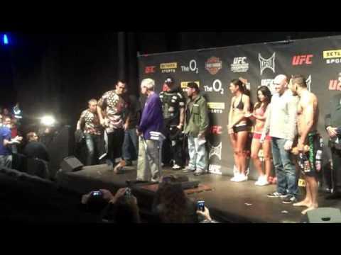 Hendo Franklin UFC 93 Weigh in