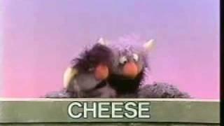 Classic Sesame Street - 2-headed Monster: CHEESE