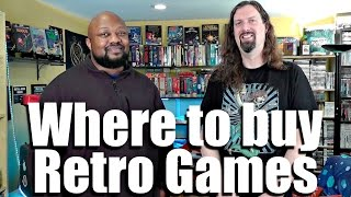 Where to BUY Retail & Repro Games ONLINE - Recommendations!