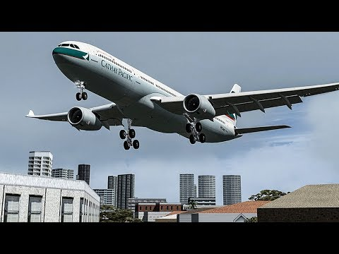 Terrifying Moments as Both Engines Failed on Approach to Hong Kong Cathay Pacific Flight 780