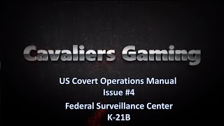 US Covert Operations Manual Issue #4 - Federal Surveillance Center K-21B - Fallout 4
