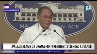 Palace slams US drama for 'president's' sexual advance