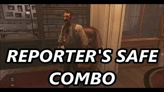 Dishonored: Death of the Outsider - Reporter's Safe Combo (Slander Ivan Jacobi)