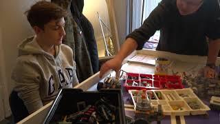 Nowy Dwór Gd., budują robota z klocków LEGO. - 28.12.2018