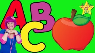 The Alphabet ABC Song | Letters A B and C | Five Finger Family | Education & Learning | Debbie Doo