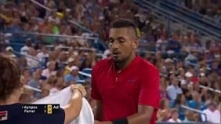 Nick Kyrgios beats David Ferrer to reach Cincinnati Masters final