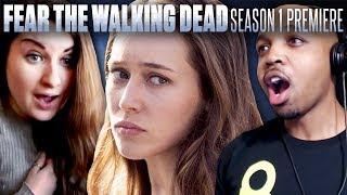 Fear The Walking Dead: Season 1 Episode 1 - Fan Reaction Compilation!