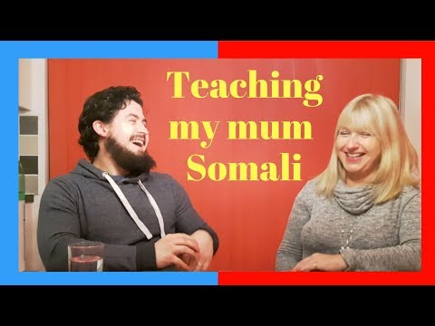 Teaching my mum Somali || Sam of Somalia family