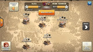 India Lvl 17 clan vs Iran Trehan