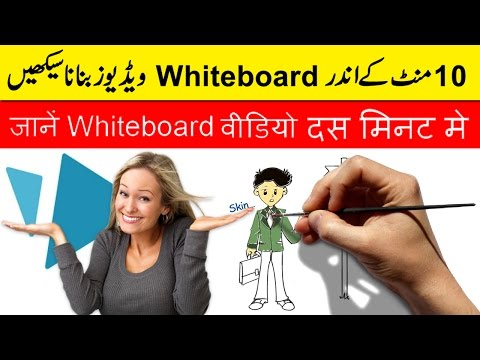 Learn How to Make Whiteboard Animation Video In 10 Minutes Tutorial | Urdu Hindi