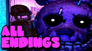 Five Nights at Freddy's 3 Good Ending, Bad Ending & Secret Ending