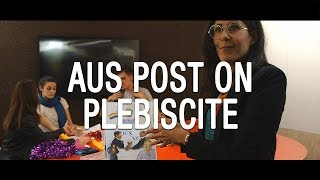 Australia Post Prepares for the Postal Vote Plebiscite - The Feed