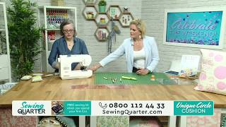 Sewing Quarter - Celebrate the Weekend - 13th May 2017