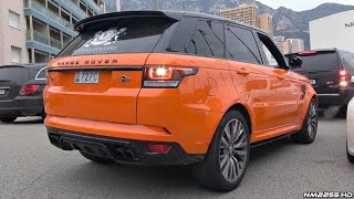 Range Rover Sport SVR Exhaust Sound - Start Up, Revs & Acceleration