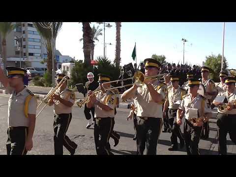 Turkish National Anthem Cyprus Flag Guard Kibris Türk bayrak töreni HD