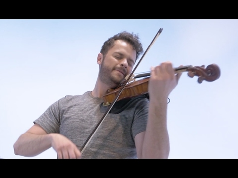 Cheap Thrills by Sia for Violin in ONE TAKE Loop Cover Rob Landes