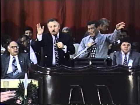 Nicky Cruz no congresso da UMADEMAT 1996 Campo Grande MS Parte 6