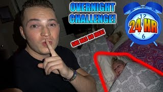 SNEAKING INTO GRANDMOMS ROOM *OVERNIGHT CHALLENGE*