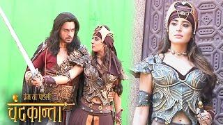 Chandrakanta: Chandrakanta Declares War Against Shivdutt | Virendra Singh Helps Her | Onlocation