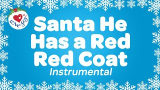 Watch He Has a Red Red Coat | Christmas Song for Kids | Children ...