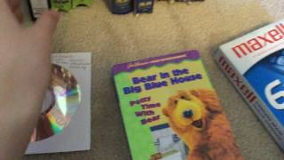 My Bear in the Big Blue House VHS/DVD Colection