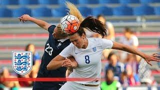 France Women 0-0 England Women (2016 SheBelieves Cup) | Goals & Highlights