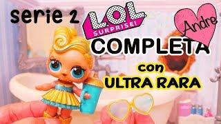 Muñecas LOL Serie 2 Ola 2 COMPLETA con Muñeca ULTRA RARA Oro de 24K - Juguetes como huevos sorpresa