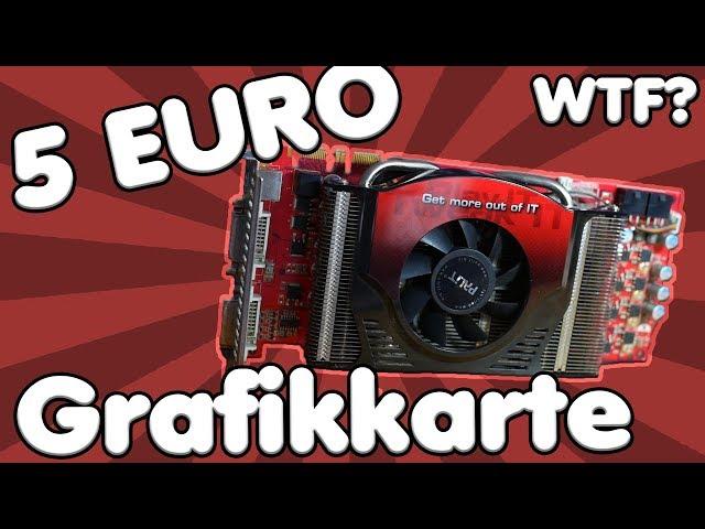 Was kann eine 5 Euro Grafikkarte? | BILLIGER GEHT NICHT MEHR, oder doch?! #GTAV