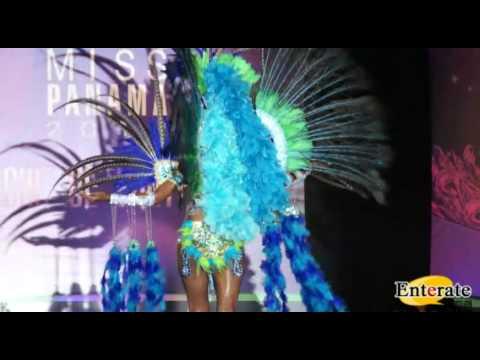 Desfile Trajes de Fantasia Miss Panamá 2012