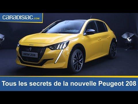Nouvelle Peugeot 208 2019 tous les secrets de la citadine du lion