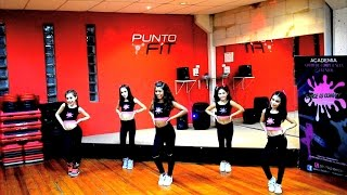 Party Animal KIDS - Reggaeton by Camila Hidalgo / Dance is convey (HD)