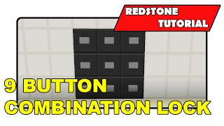 9 Button Combination Lock [Unlimited]
