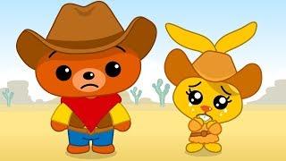 Mini Cowboys - Plim Plim | Animated Series | The Children