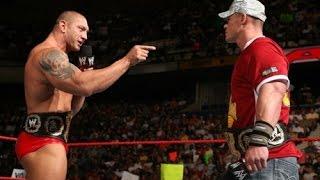 Batista shoots on John Cena's character