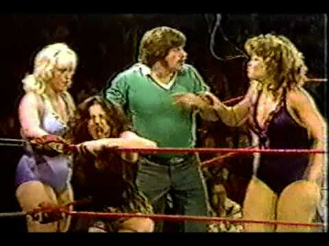 Wendi Richter & Joyce Grable vs Princess Victoria & Sabrina Part 1