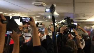 Indians celebrate first AL pennant in 19 years