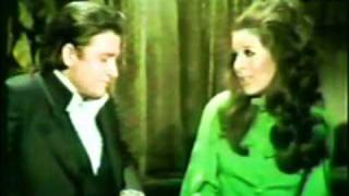 Johnny Cash & Bobby Gentry - On The Byou