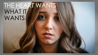 The Heart Wants What It Wants - Selena Gomez | Ali Brustofski Cover (Music Video)