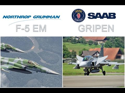 F 5 vs Gripen-pt.br