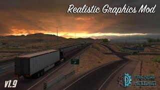 [1.29] American Truck Simulator | Realistic Graphics Mod v1.9.1 | Mods
