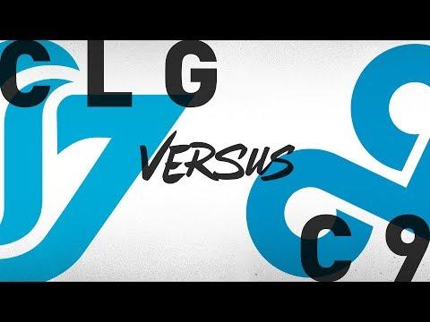 Xxx Mp4 CLG Vs C9 Week 4 Day 2 NA LCS Summer Split Counter Logic Gaming Vs Cloud9 2018 3gp Sex